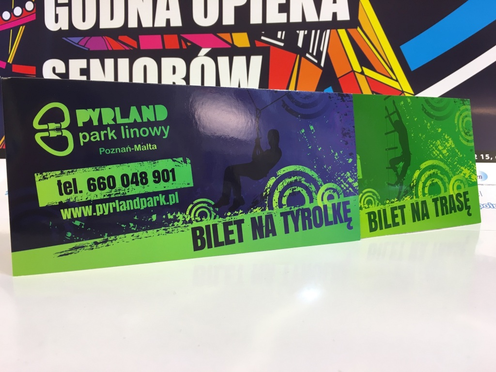 Bilet na Tyrolkę i Trasę Pyrlandpark