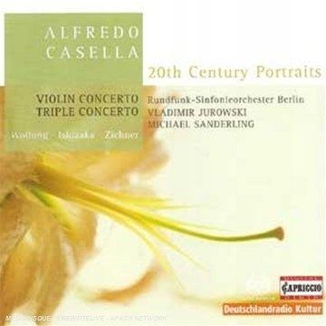 Casella - Triple Concerto Violin Concerto