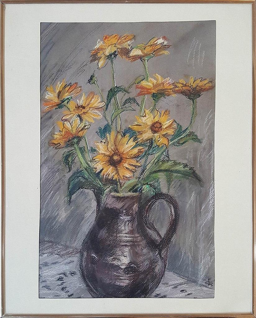Obraz, Bukiet, 2002, Janina Cieciura Gdowska