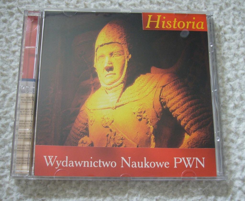 Encyklopedia multimedialna PWN Historia CD