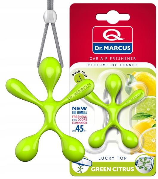 Dr.Marcus Lucky Top Green Citrus Zapach zawieszka