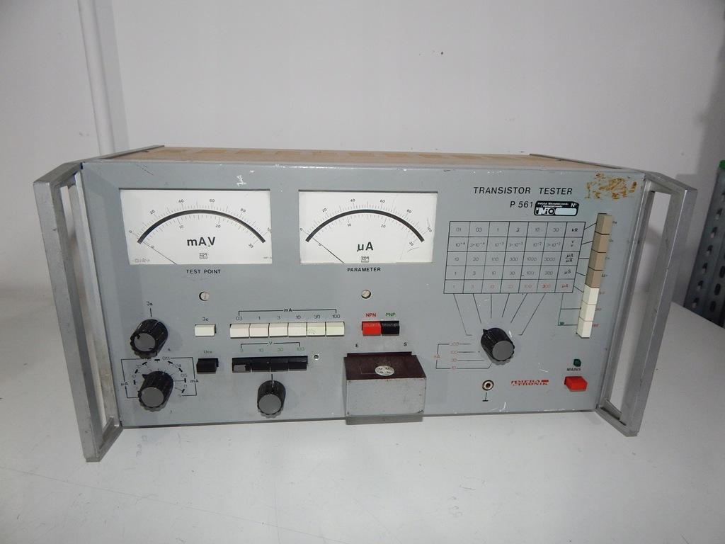 Urządzenie pomiarowe tester tranzystorów P561