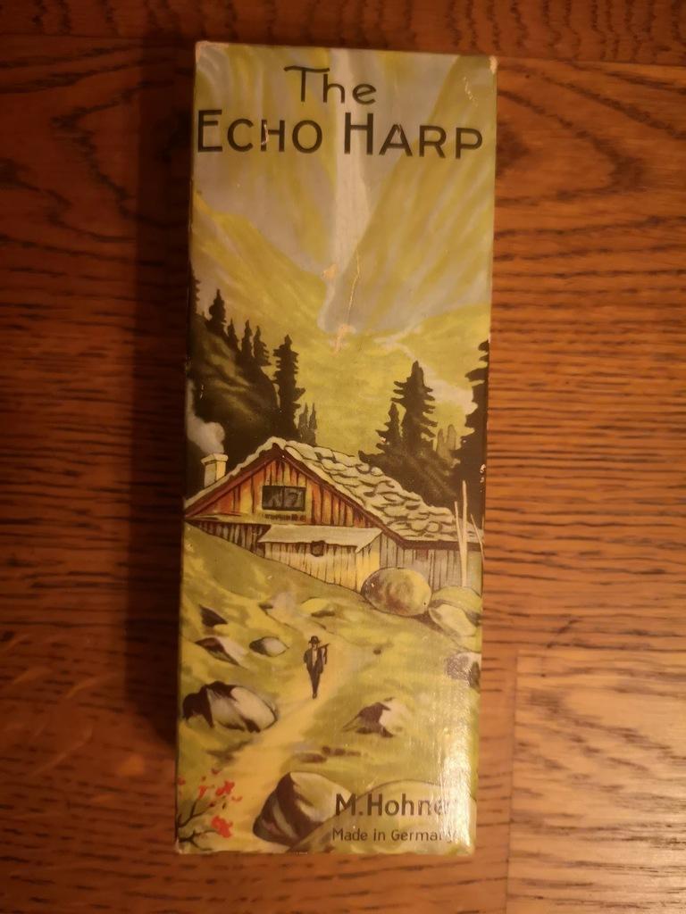 Harmonika ustna Hohner ECHO HARP dwustronna C i G
