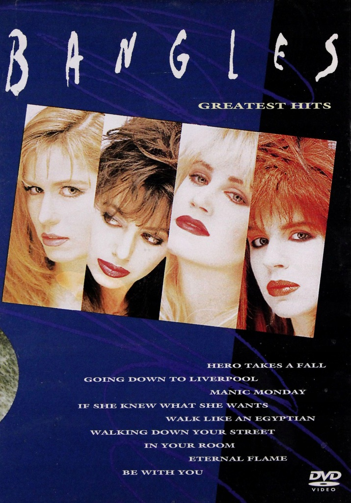 THE BANGLES: THE BANGLES: GREATEST HITS (DVD)