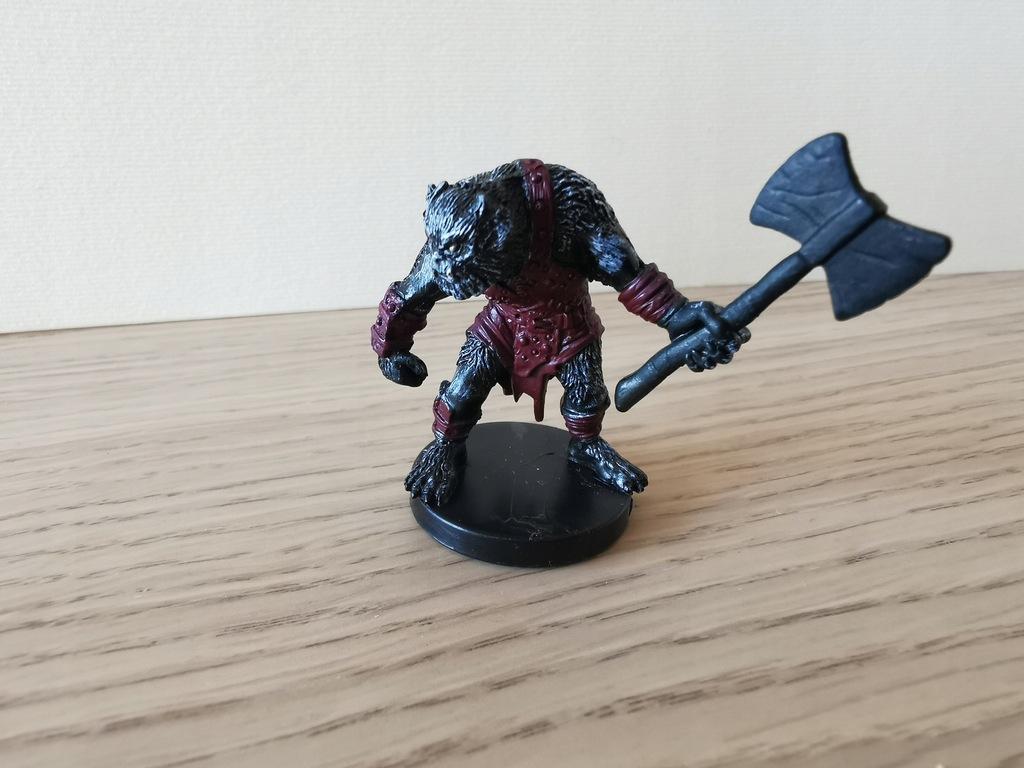D&D Miniatures - Bugbear Berserker