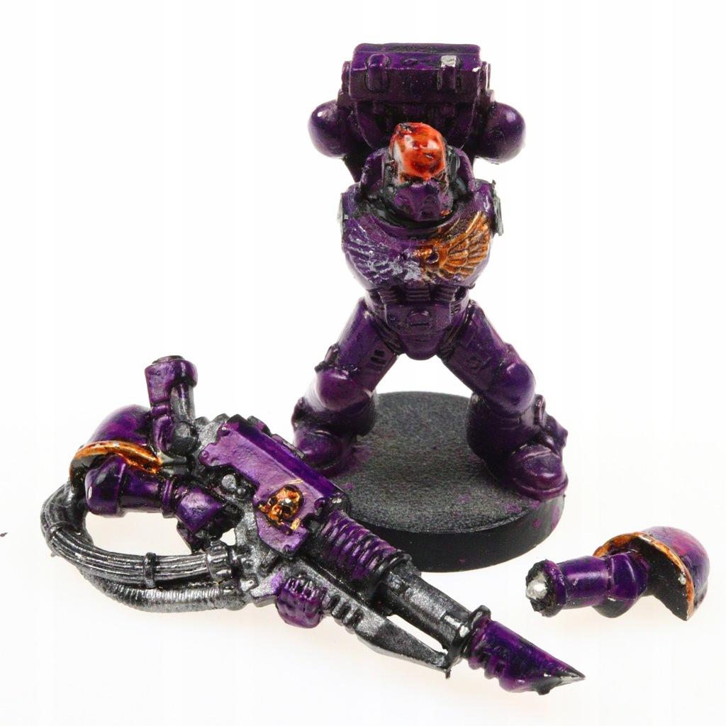 Warhammer 40k Space Marine Lascannon Figurka 8515985431 Oficjalne Archiwum Allegro