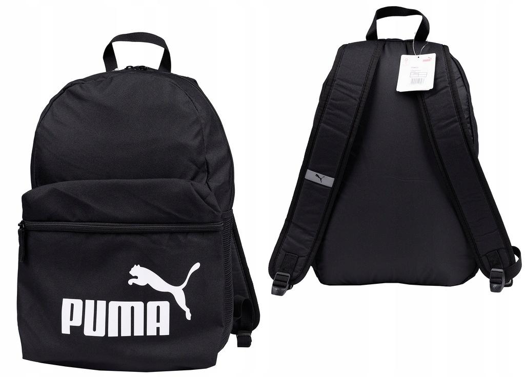 Plecak Szkolny Czarny Puma Phase Backpack Miejski