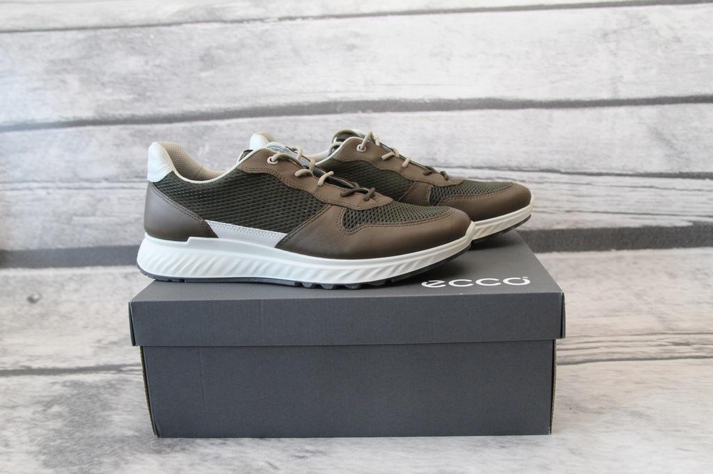 ECCO - skórzane buty męskie sneakersy NOWE 45