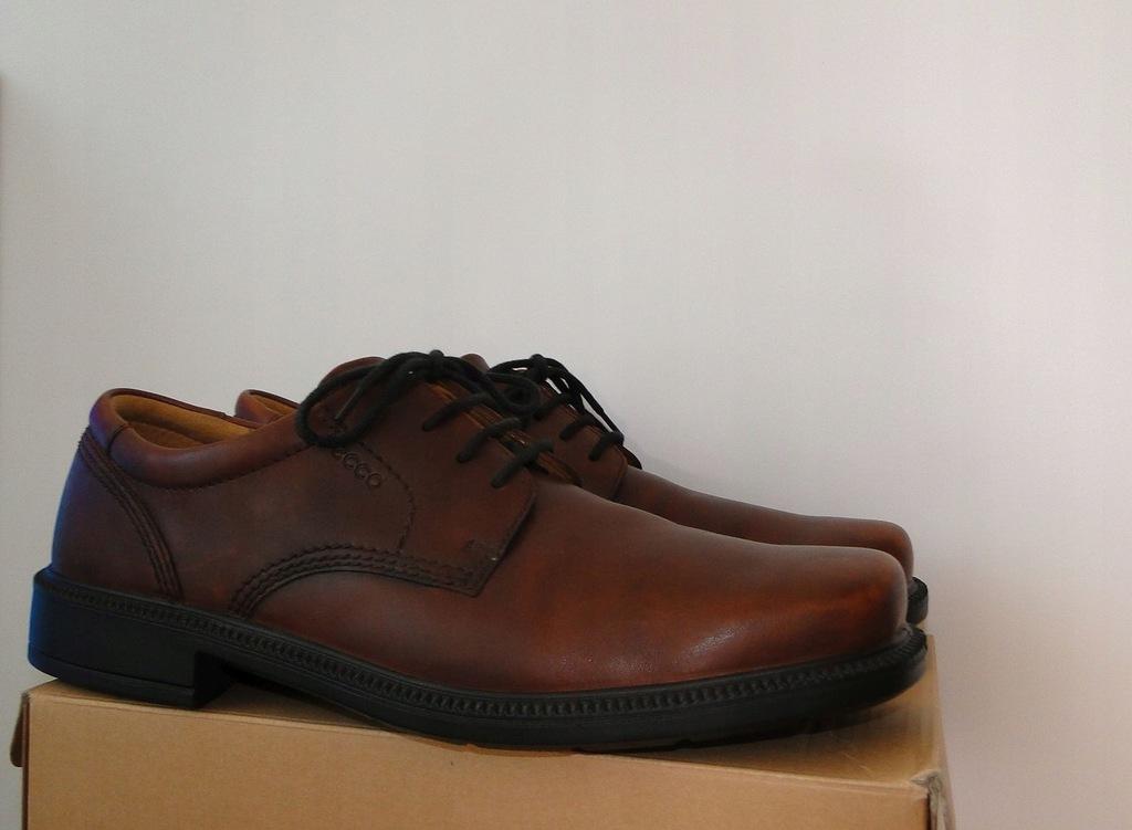Buty ECCO Extreme Comfort Soft Leather Skorzane
