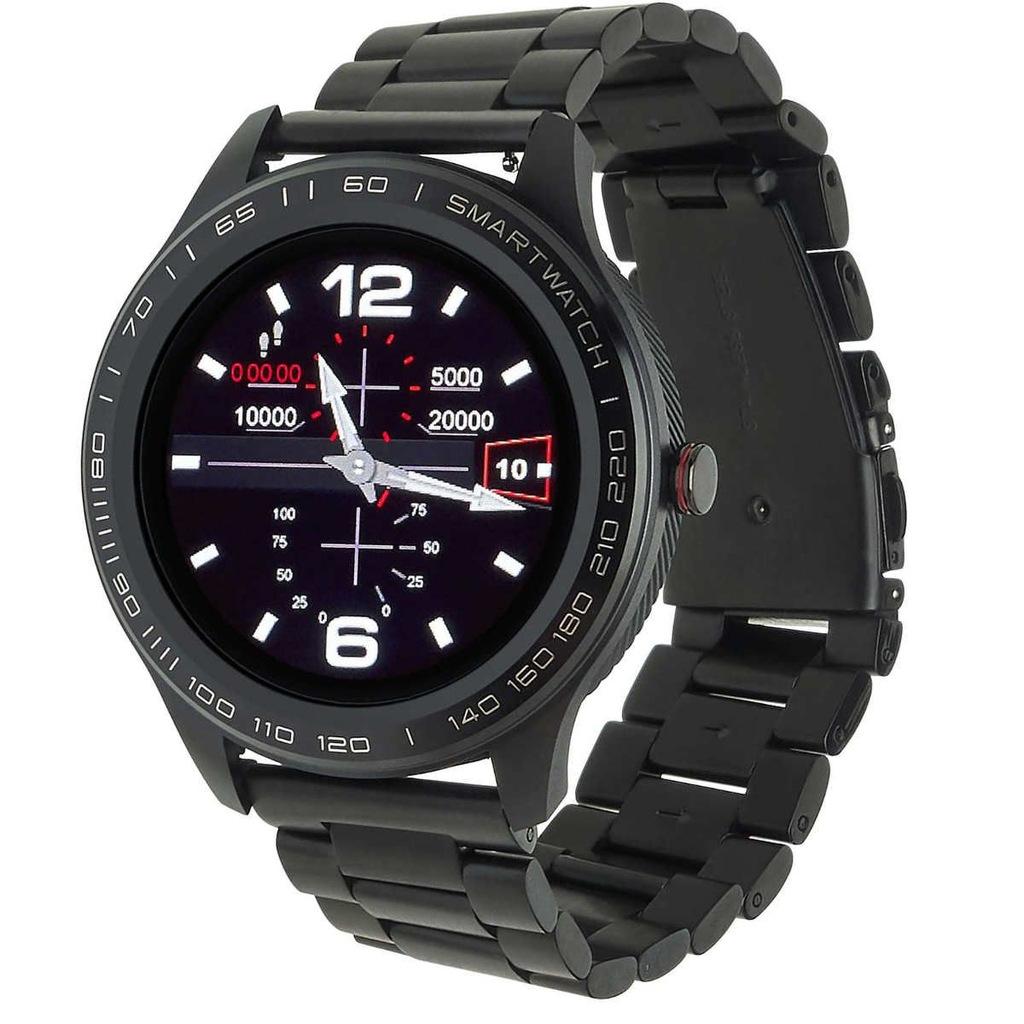 Smartwatch Garett Men 3S RT czarny z bransoletą