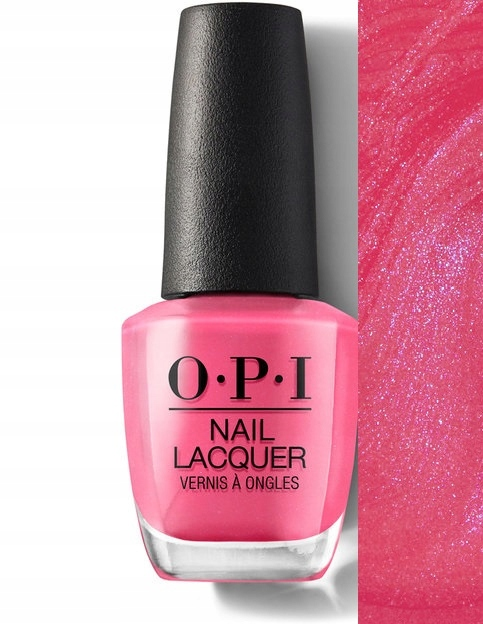 OPI LAKIER DO PAZNOKCI HOTTER THAN YOU PINK 15ml