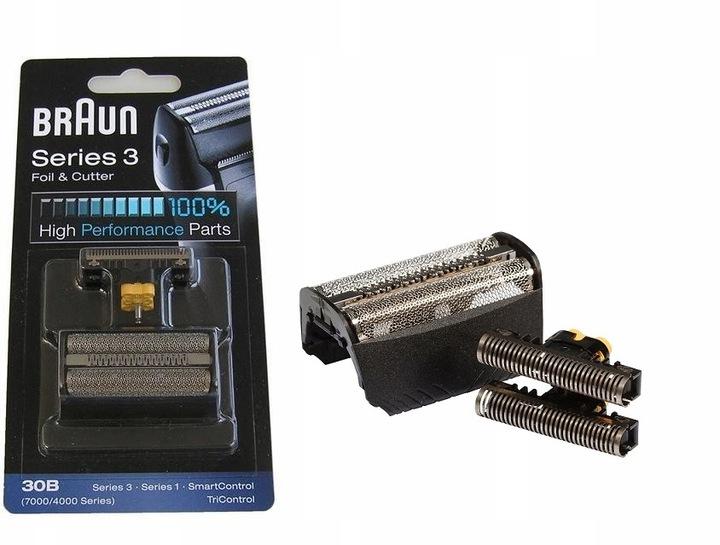 Braun Series 3 folia + blok ostrzy 30B 7000/4000
