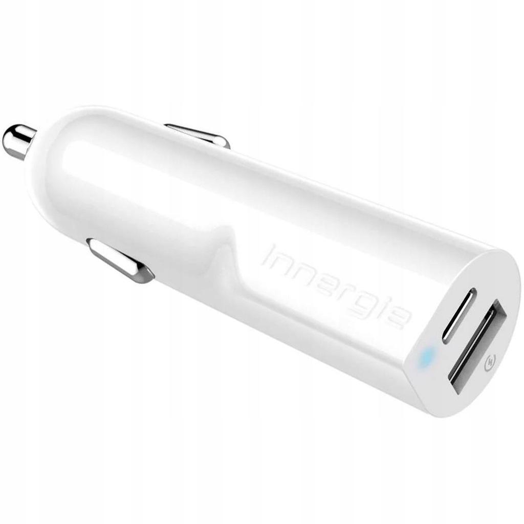 Ładowarka samochodowa Innergie 30W USB, USB-C 2.4A