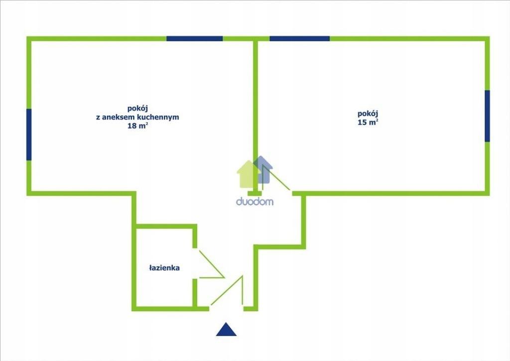 Mieszkanie, Kraków, Nowa Huta, Os. Stalowe, 40 m²