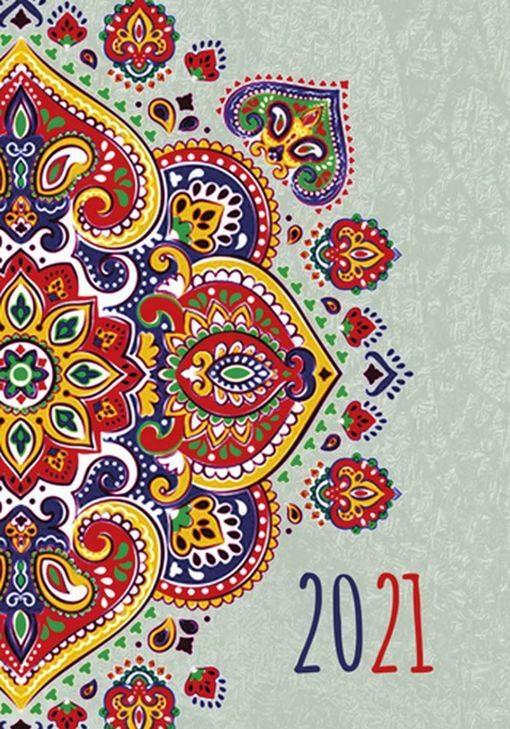 Kalendarz MIKRO 2021 tygodniowy folkMichalczyk i P