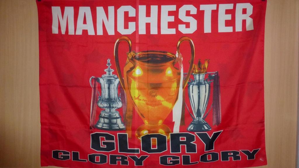 Flaga Manchester United
