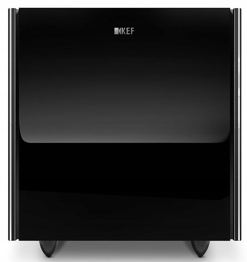 KEF REFERENCE 8b Subwoofer Aktywny Piano Black