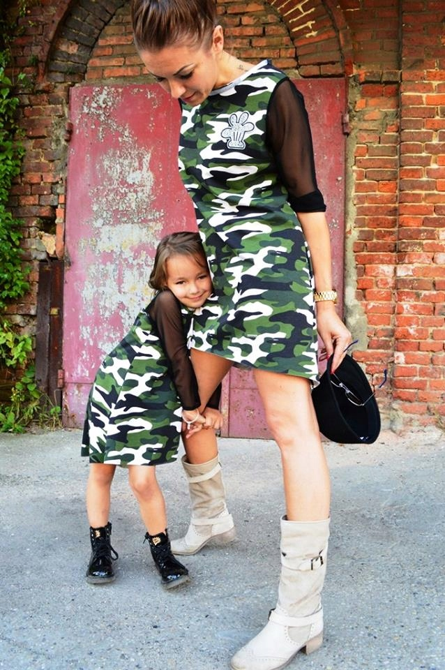 Kids by Voga Italia sukienka moro tiul 140 j.NOWA