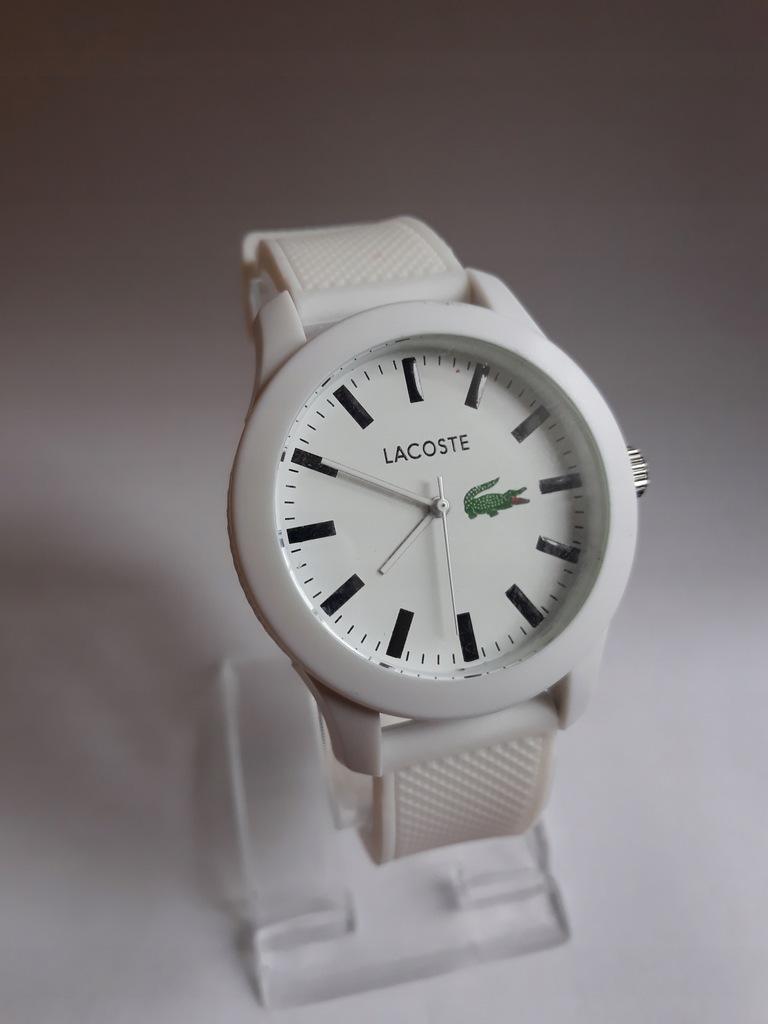 Zegarek Lacoste na gumowym pasku SUPER