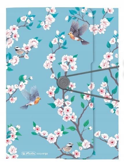 Teczka rysunkowa A4 z gumką Ladylike Birds