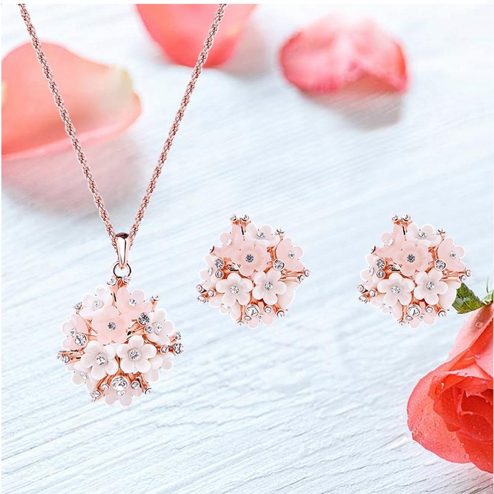 Zestawy biżuterii dla kobiet Dziewczynki Naszyjnik