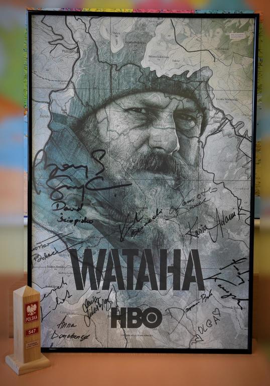 plakat WATAHA III sezon z autografami