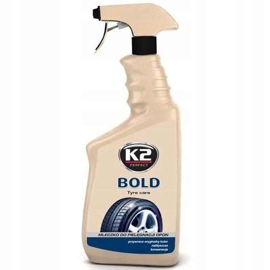 K2 Bold Płyn do nabłyszczania i pielęgnacji opon