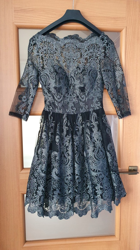 Chi Chi London sukienka haftowana wesele XS/S