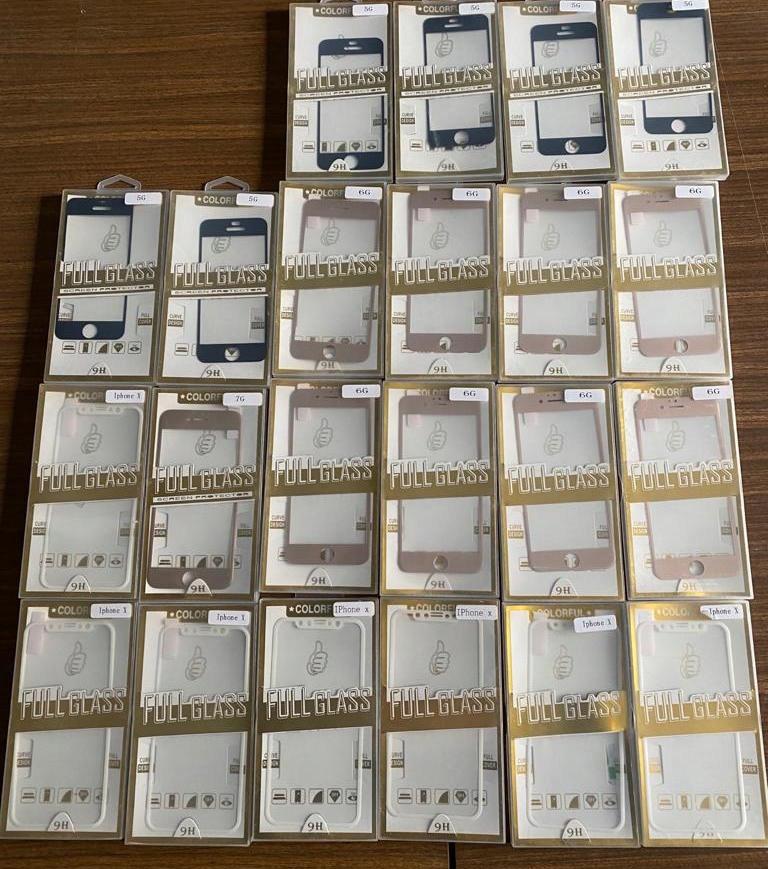 szkła hartowane iPhone 22 szt. pakiet 47