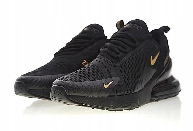 Nike Air Max 270 Czarno Zote dostawa kurier 8216828757