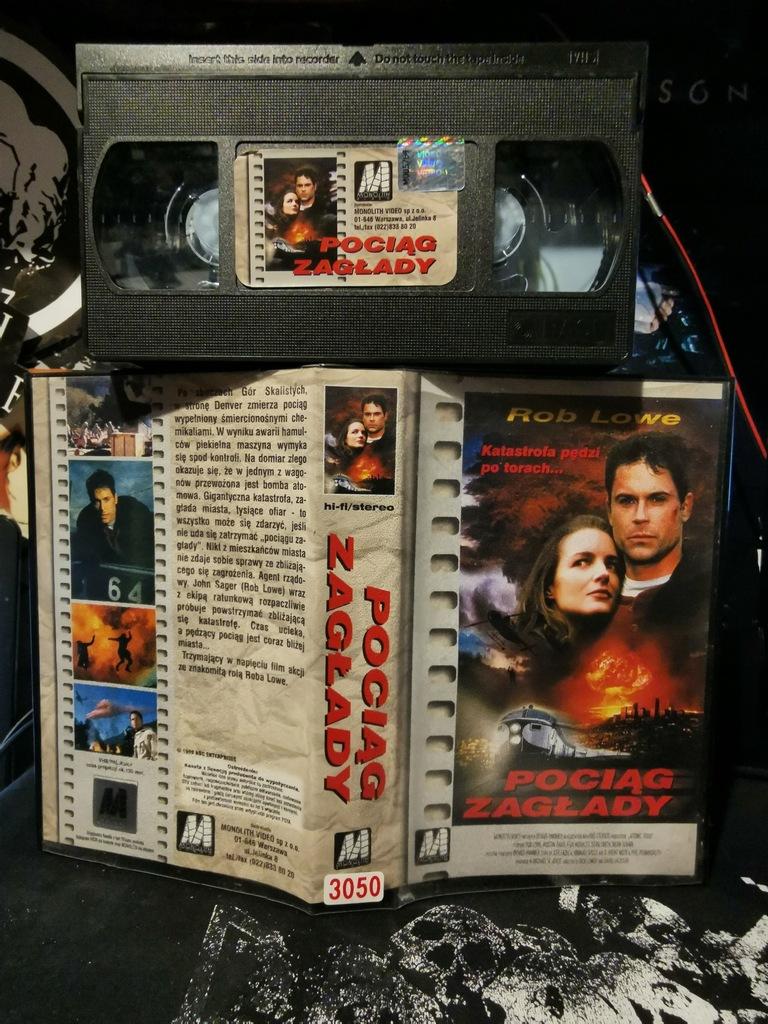 Pociąg zagłady VHS Monolith