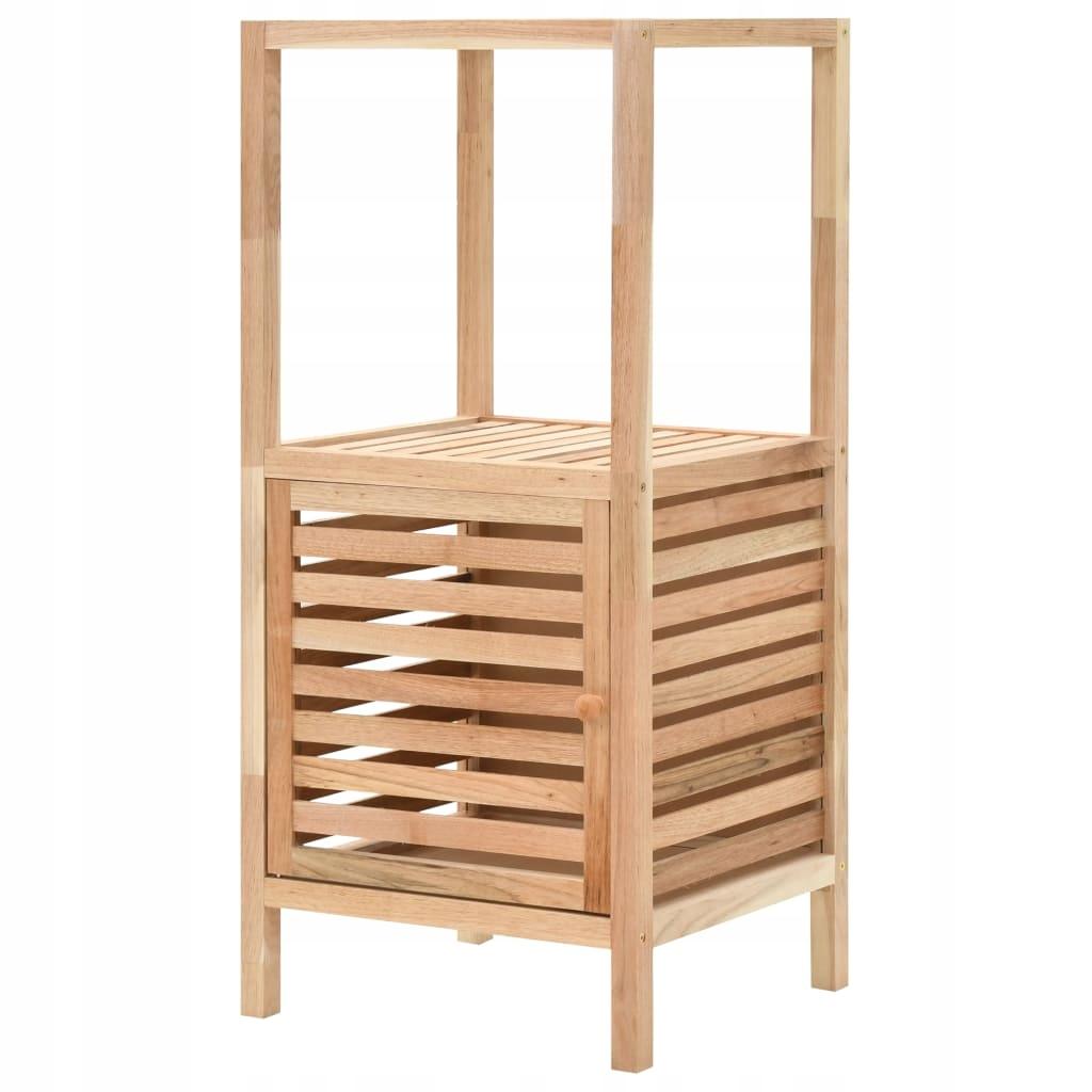 Szafka łazienkowa z drewna orzecha włoskiego, 39,5