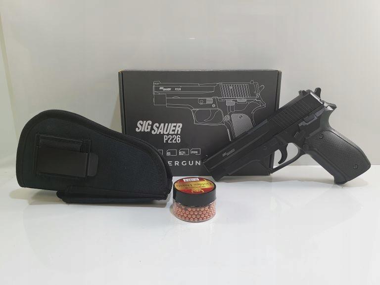 PISTOLET ASG SIG SAUER P226 METAL SLIDE 4,5