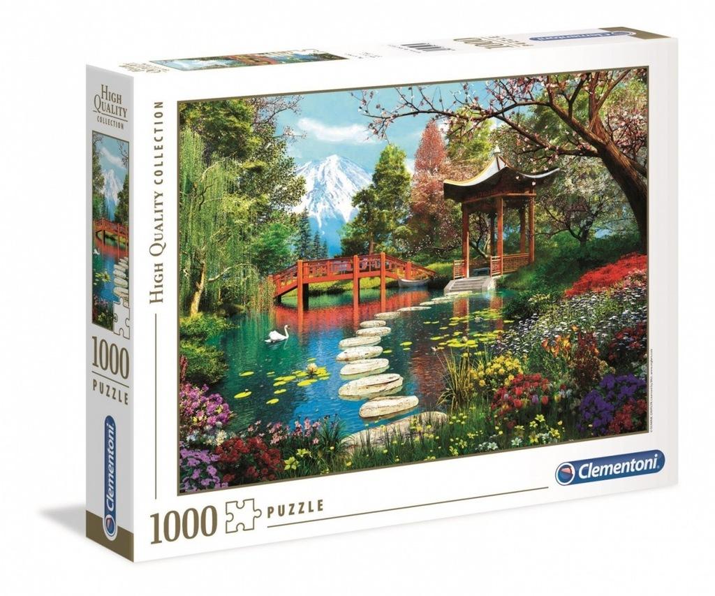 PUZZLE CLEMENTONI Ogród Fuji 1000 elementów