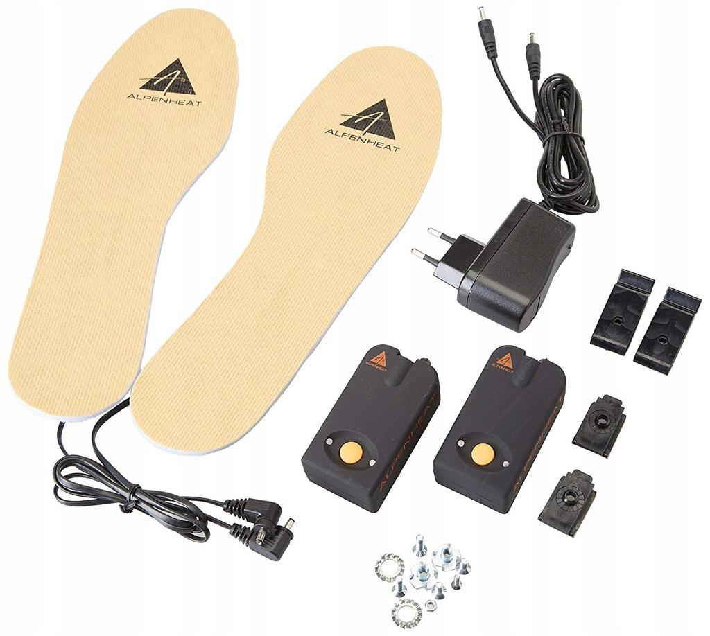 AlpenHeat AH6 Wkładki do butów z podgrzewaniem