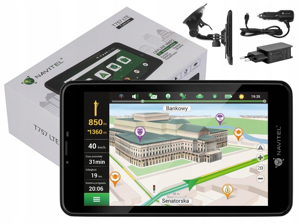 """NAVITEL T757 Nawigacja 7"""" Mapa EU Tablet A9X"""