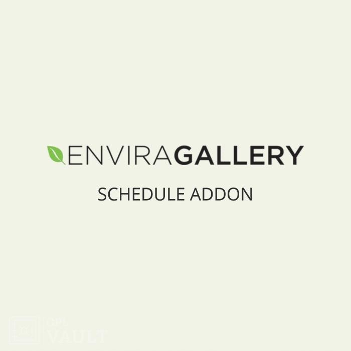 Wtyczka WordPress Envira Gallery Schedule Add-On