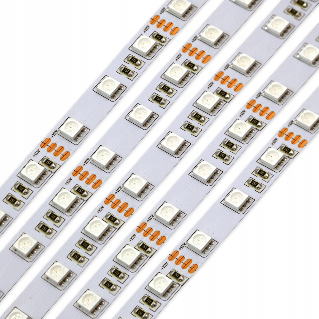 Taśma RGB 5050 12V IP20 300 LED wielokolorowa 5m