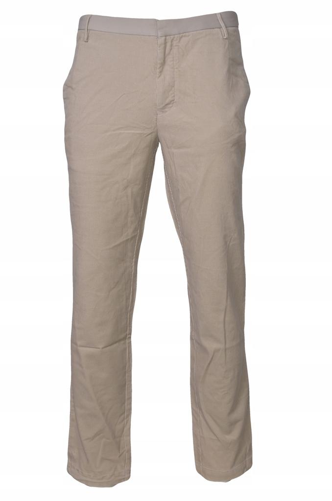 Puma spodnie męskie sztruksowe r 34
