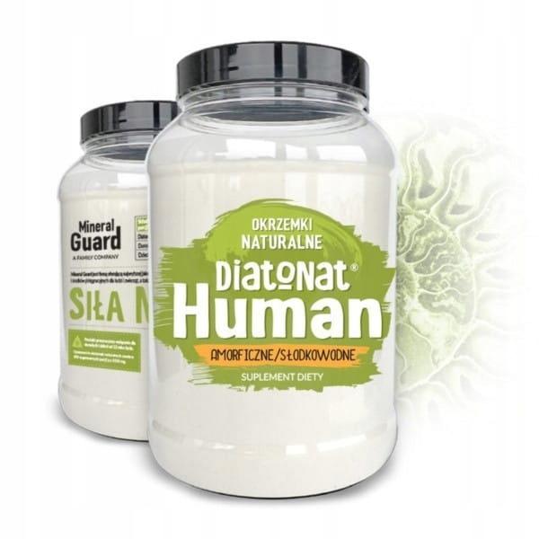 Diatonat Human Okrzemki Naturalne amorficzne/słodk