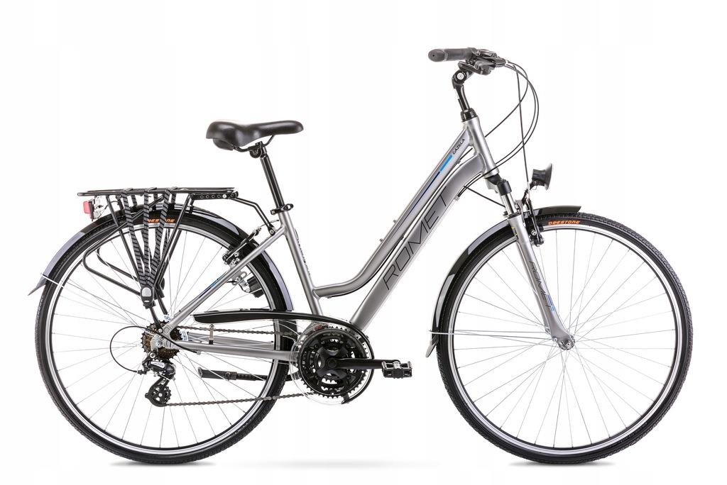 2028309 - 19 L Rower ROMET GAZELA srebrny