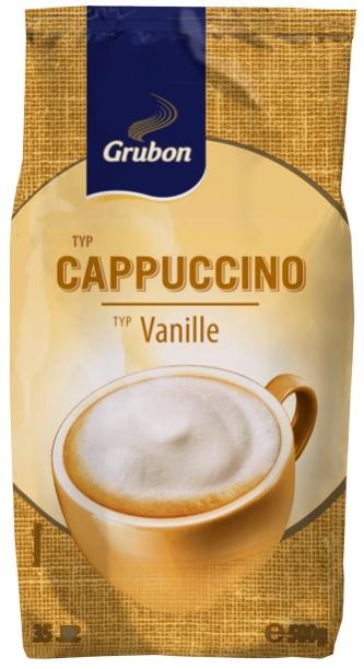 GRUBON Cappuccino Vanilia 500g z Niemiec