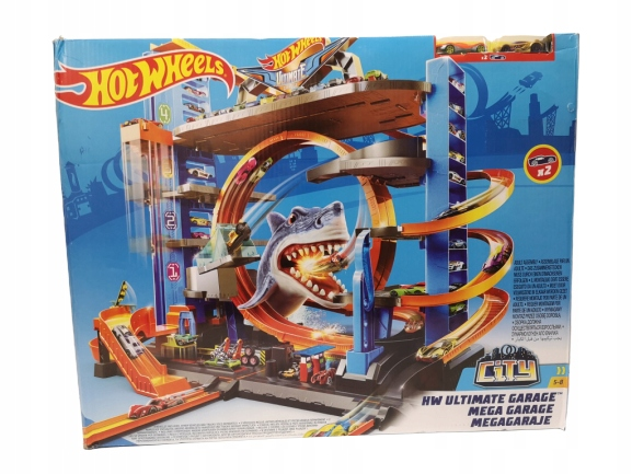 Hot Wheels Ultimate Garage City garaż tor parking