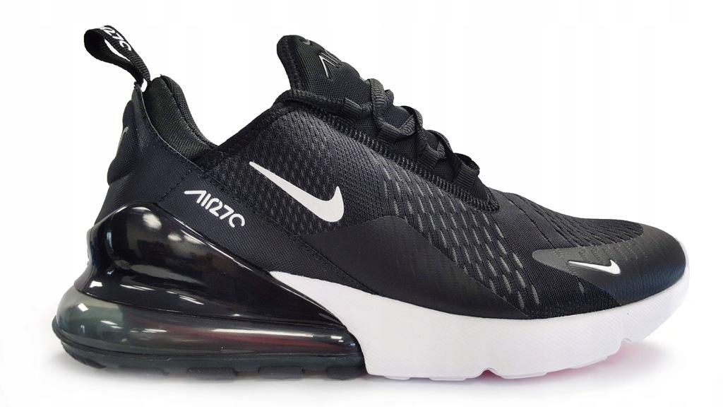 Białe Buty sportowe męskie Rozmiar 46 Model Nike Air