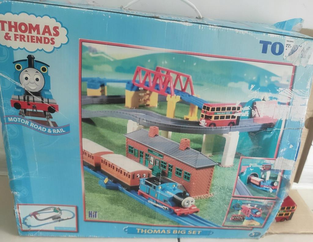 Tomek i Przyjaciele Zestaw TOMY Thomas Big Set