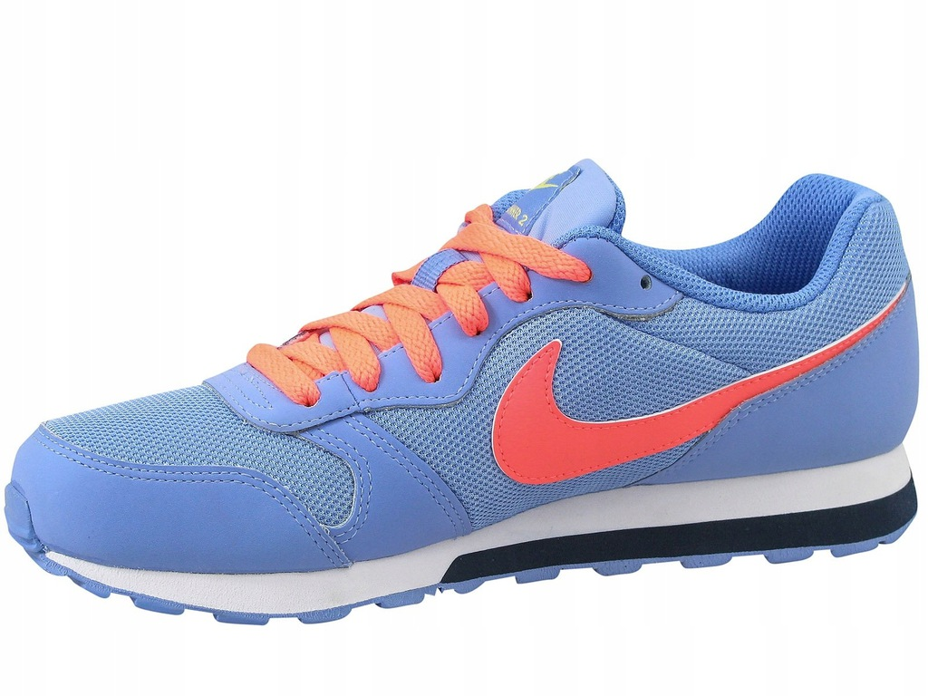 Nike MD Runner 2 GS 807319 402 | Niebieski, Pomarańczowy