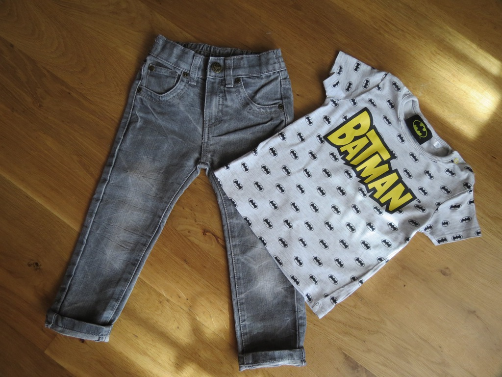 koszulka spodnie kiki & koko batman 92 j zara