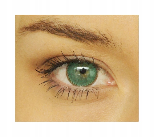 SOCZEWKI DWUTONOWE I-Lux Jade Green minus -3.25