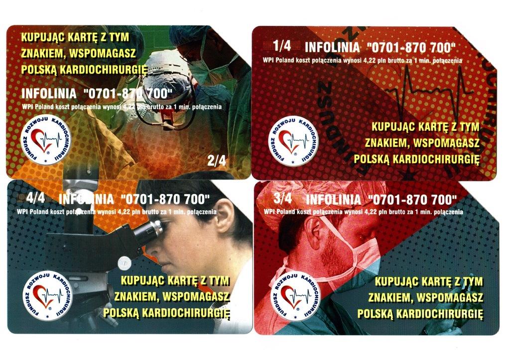 Karty telefoniczne Fundusz Kardiochirurgii wybór