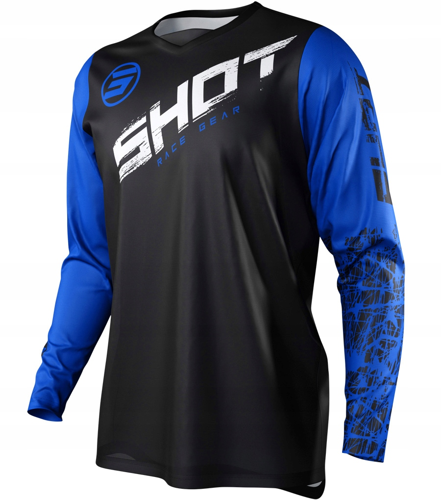 Bluza cross SHOT RACING DEVO SLAM BLUE YAMAHA L
